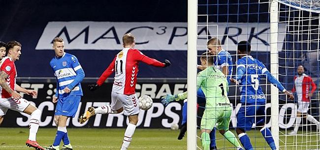 Foto: PEC Zwolle en FC Emmen stellen hevig teleur