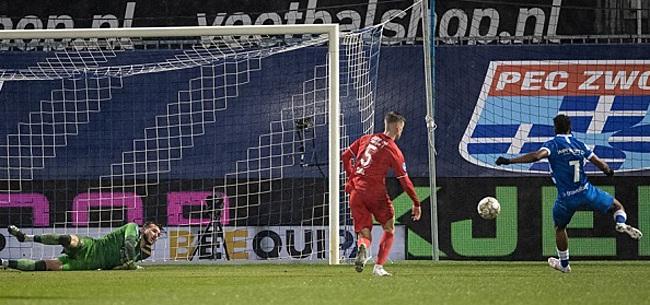Foto: FC Twente moet vrezen na nederlaag in Zwolle
