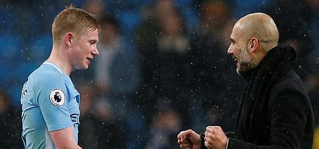 Foto: 'Pep Guardiola maakt kapitale fout met De Bruyne bij Manchester City'