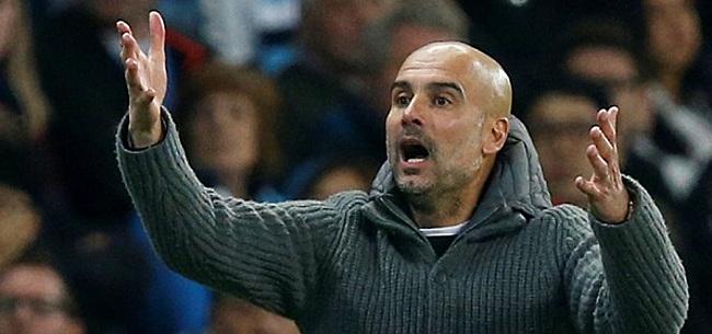 Foto: Guardiola haalt uit naar Klopp: 'Dat stoort me'