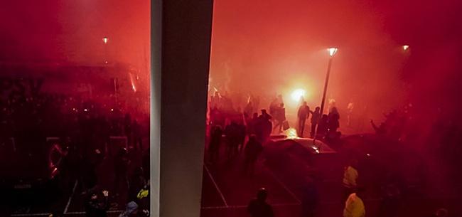 Foto: PSV-fans komen met nieuwe actie in aanloop naar clash met Feyenoord