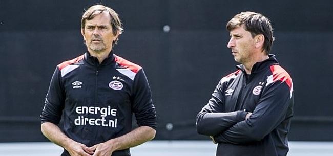 Foto: Cocu 'zeer te spreken' over talenten bij PSV