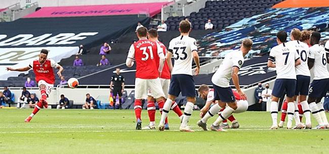 Foto: Alderweireld kopt Spurs dubbel voorbij Arsenal