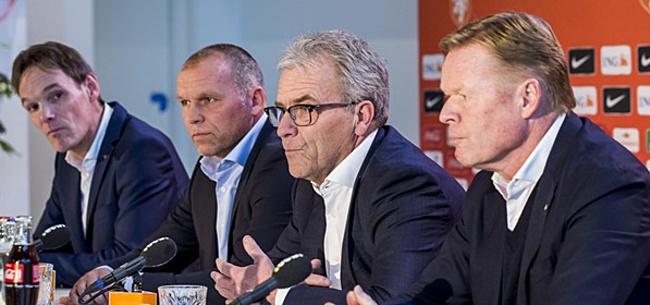 Foto: Bondscoach Koeman heeft technisch staf nog altijd niet rond