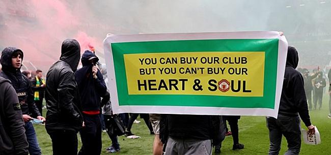 Foto: United-aanhang kondigt nieuwe protestactie aan