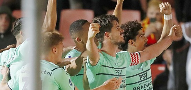 Foto: Van Ginkel voorkomt nieuwe blamage PSV tegen moedig Eagles