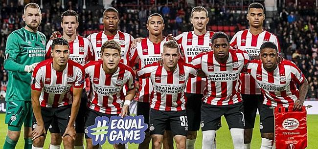 Foto: Fans PSV begrijpen er niets van: