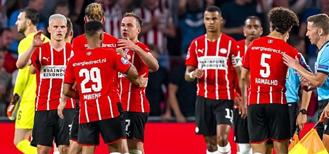 Foto: PSV-nieuweling imponeert gelijk:
