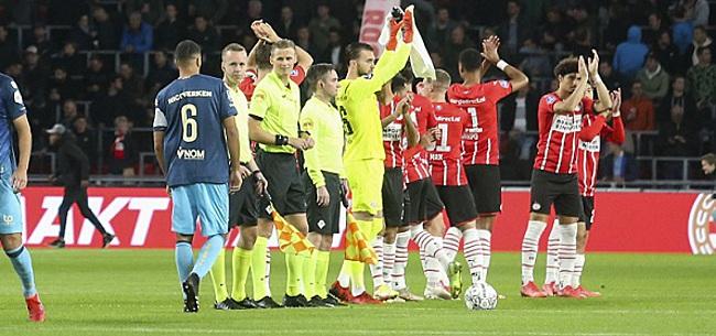 Foto: PSV-kijkers gaan los: