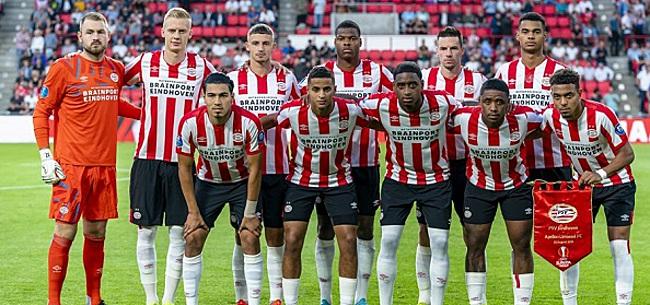 Foto: 'PSV moet aan de bak om bij de eerste twee te komen'