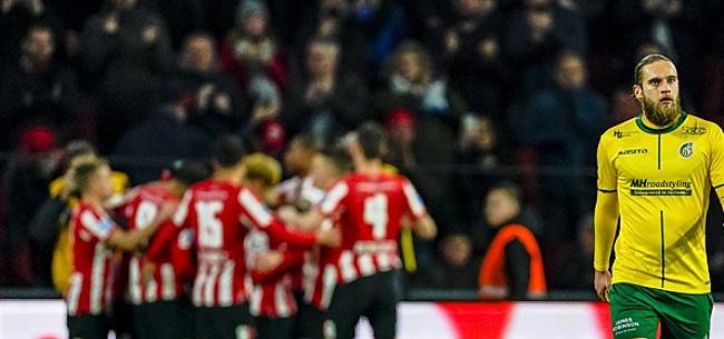 Foto: Kijkers PSV-Fortuna unaniem in oordeel: