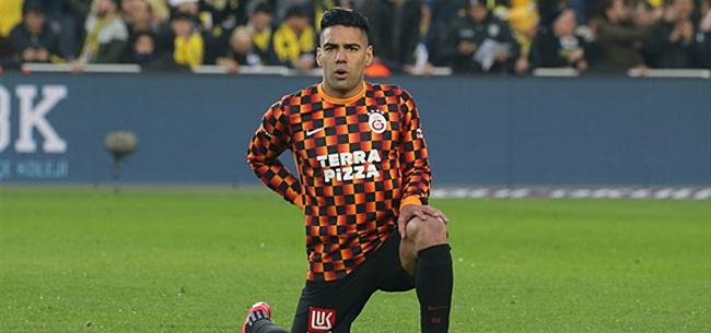 Foto: Falcao en Mikel willen niet voetballen: