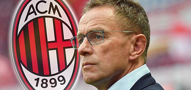 Foto: Rangnick nog niet naar AC Milan: