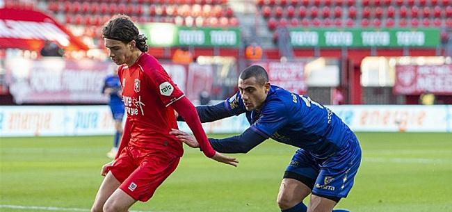 Foto: VVV verslaat Twente in clash tussen topschutters