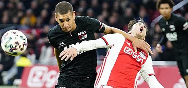 Foto: Sterk AZ verslaat Ajax en gooit titelstrijd helemaal open