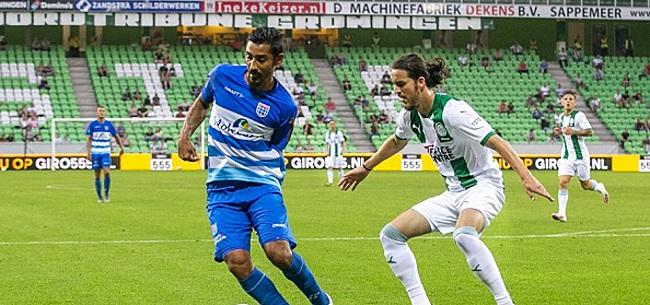 Foto: Reza beslist duel in Groningen, Willem II klopt VVV