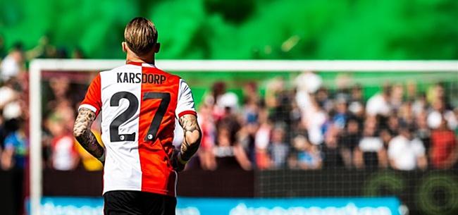 Foto: Botteghin laat zich uit over ruzie Karsdorp met Feyenoord-fans