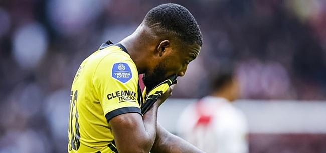 Foto: Vitesse vreest voor Bazoer na veelbesproken moment