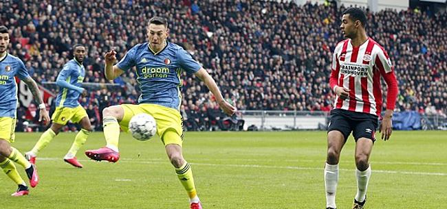 Foto: Kijkers PSV-Feyenoord los op één man: