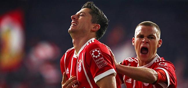 Foto: Bayern München met moeite langs hekkensluiter, Schalke ontsnapt aan gelijkspel