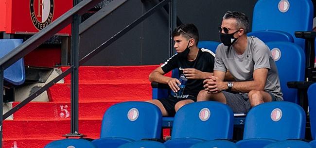 Foto: Robin van Persie onder de indruk van FC Utrecht