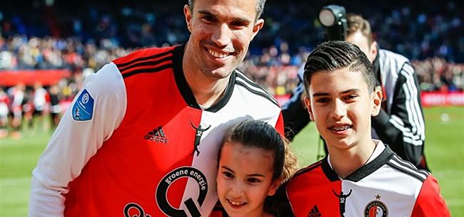 Foto: 'Nieuwe baan voor Van Persie bij Feyenoord'