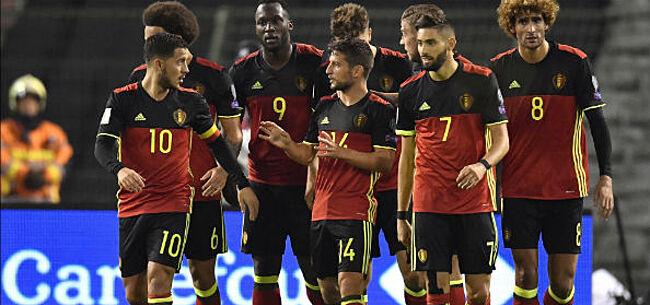 Foto: Hazard over voormalig bondscoach België: