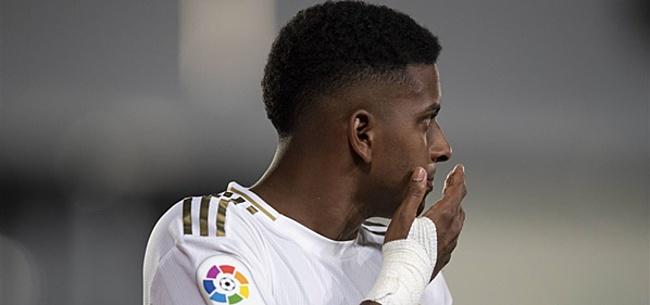 Foto: Real Madrid hoort: Rodrygo máánden aan de kant