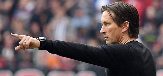 Foto: Van de Kerkhof blij met 'wat andere jus over PSV-eten'