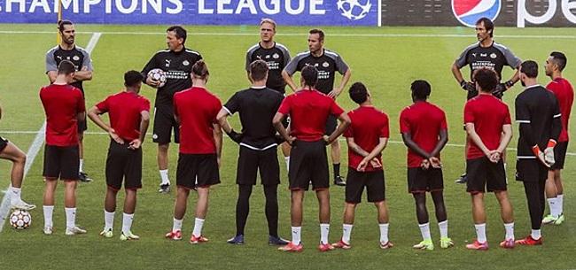 Foto: Domper voor PSV: basisspeler lijkt topper niet te halen
