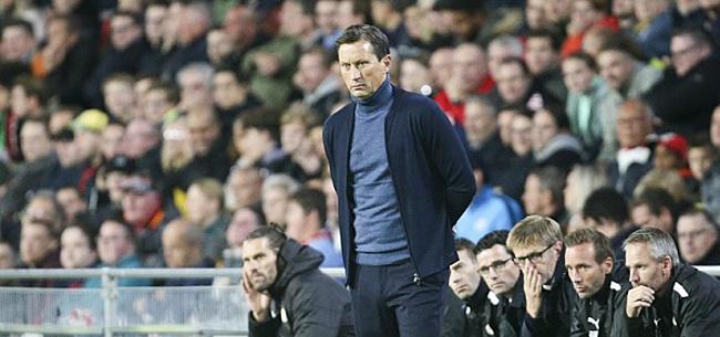 Foto: Schmidt gaat los over 'een van de beste spelers in Eredivisie'