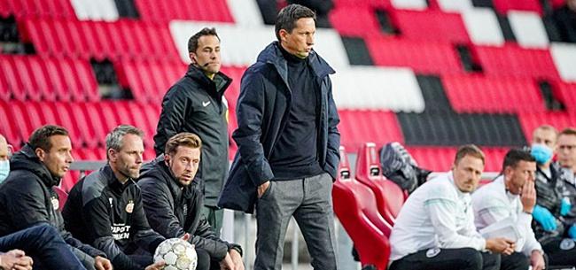 Foto: 'Schmidt voert één wijziging door in PSV-opstelling'