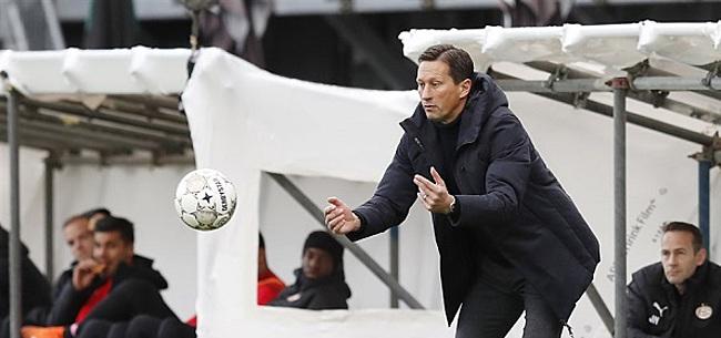 Foto: Schmidt complimenteert Götze na PSV-debuut:
