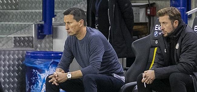 Foto: Schmidt: 'Twaalf PSV-spelers zijn nog niet de oude'