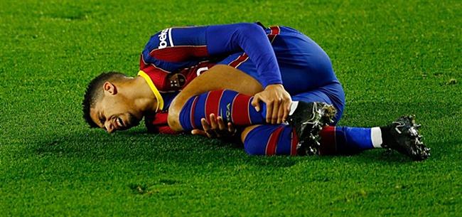 Foto: Koeman mist belangrijke verdediger in El Clásico door blessure