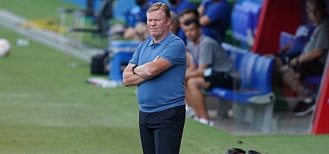 Foto: Koeman opvallend mild na nederlaag: