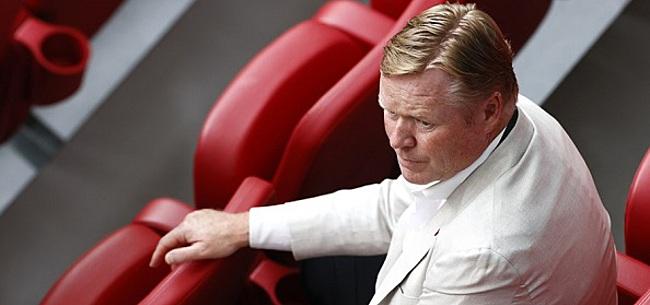 Foto: 'FC Barcelona levert Koeman grote naaistreek'