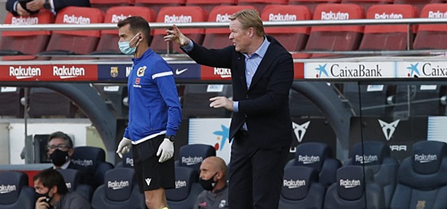 Foto: 'Totale ramp dient zich aan voor Koeman bij Barcelona'