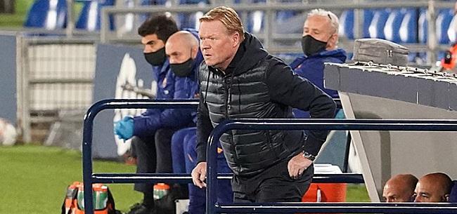 Foto: 'Koeman krijgt zorgelijk signaal vanuit FC Barcelona'