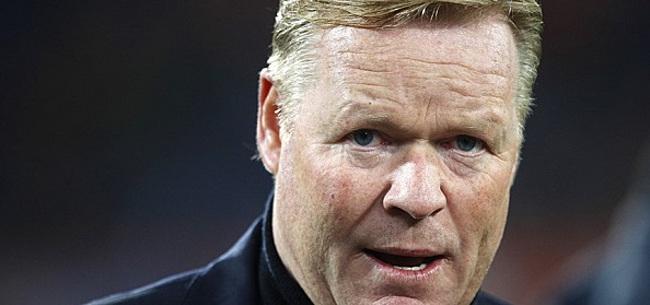 Foto: Bondscoach Koeman trekt pijnlijke conclusie over Feyenoord