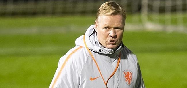 Foto: 'Forse streep door de rekening voor Koeman en Oranje'
