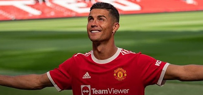 Foto: Magische rentree Cristiano Ronaldo op Theatre of Dreams