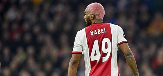 Foto: Babel onthult waarom hij zo slecht speelt bij Ajax