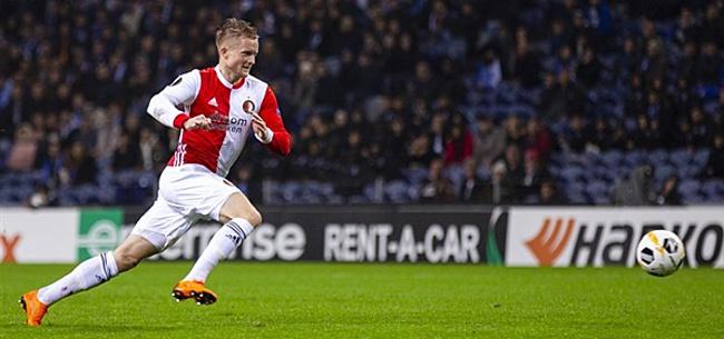 Foto: Larsson schrikt van heftig Feyenoord-nieuws:
