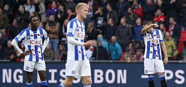Foto: Heerenveen rekent op einde seizoen: