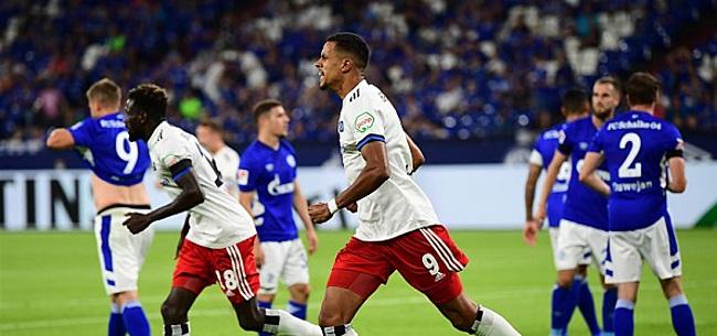 Foto: HSV bezorgt Schalke in slotfase nieuwe klap