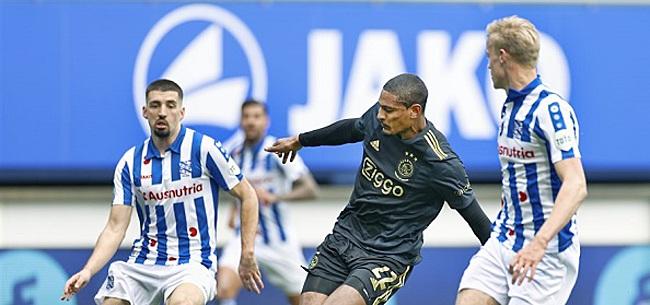 Foto: Heerenveen-verdediger erkent: