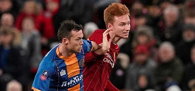 Foto: Van den Berg moet plaats afstaan in Champions League-selectie Liverpool