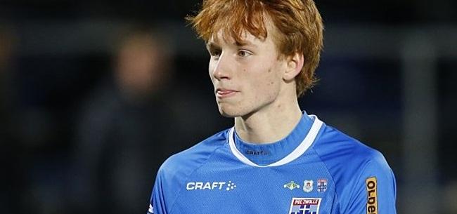 Foto: PEC Zwolle zwaait Van den Berg uit: 'Natuurlijk is het jammer'