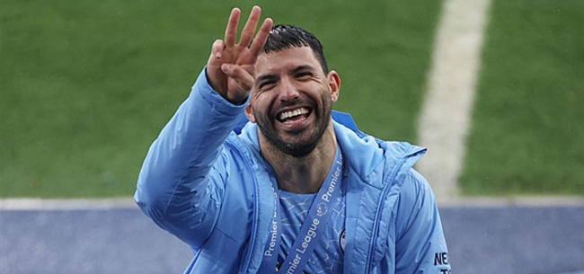 Foto: Manchester City-materiaalman verkoopt duur afscheidscadeau Agüero
